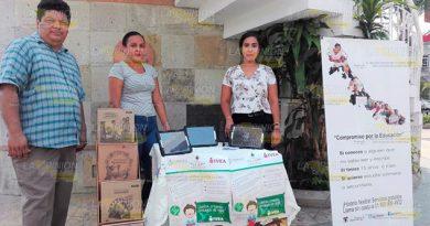 Capta IVEA a más población de región Tuxpan en situación de rezago educativo
