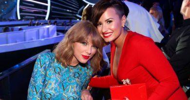 Demi Lovato puso fin a la guerra contra Taylor Swift