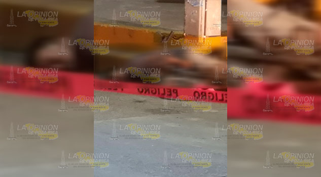 Ejecutan a ciclista en Gutiérrez Zamora