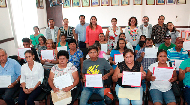 IVEA y ayuntamiento de Naranjos entregan certificados