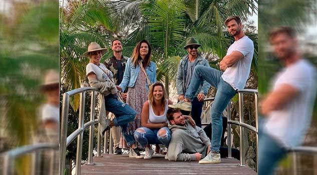 Liam Hemsworth disfruta de unas vacaciones después de su ruptura con Miley Cyrus