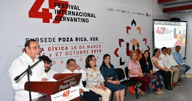 Más de 160 artistas en el Festival Internacional Cervantino en Poza Rica