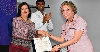 María de la Luz Straffon, voluntaria del año del CIJ de Poza Rica