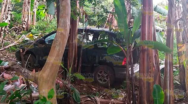 Mujer lesionada en aparatoso accidente en Tlapacoyan
