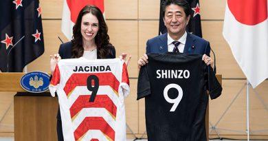 Primera ministra neozelandesa confunde China con Japón en su visita a Tokio