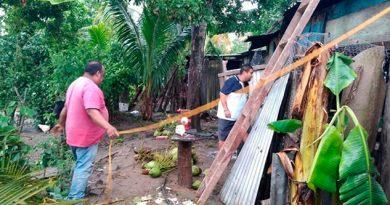 Reportan cerca de 50 familias afectadas por tormenta en Tuxtilla, Veracruz