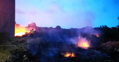 Sanciones contra quiénes quemen basura