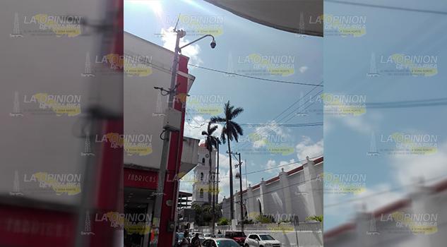 Sin coordinación entre C4 y Policía en el tema de las cámaras en Tuxpan
