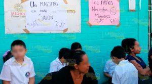 Tres días tomada la escuela Benito Juárez en Tuxpan