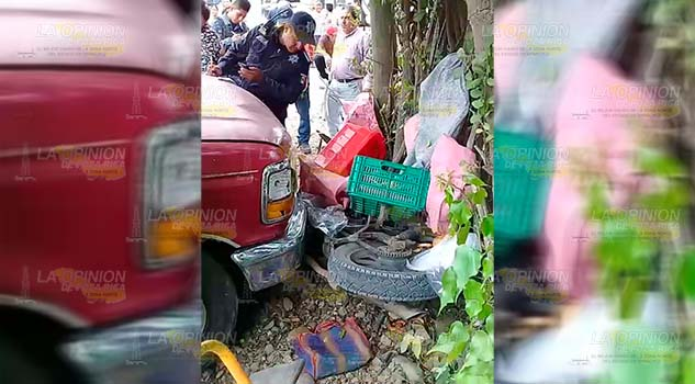 Veloz camioneta atropella a panadero sobre la vía federal México - Tampico