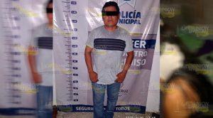 Violento marido le abre la cabeza a su esposa en Espinal, Veracruz