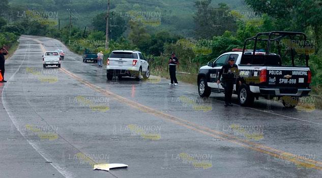 Aparatoso accidente sobre el bulevar Tajín de Papantla