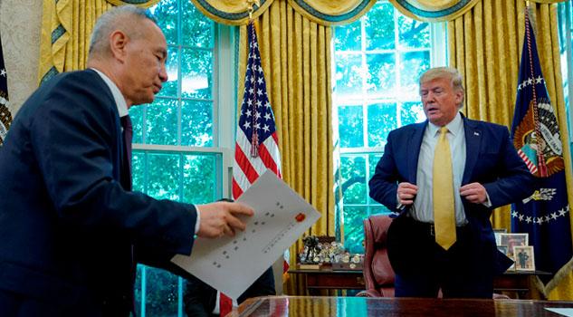 China y EUA a un paso del acuerdo comercial