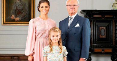 Cinco de los nietos del rey de Suecia ya no serán miembros oficiales de la realeza