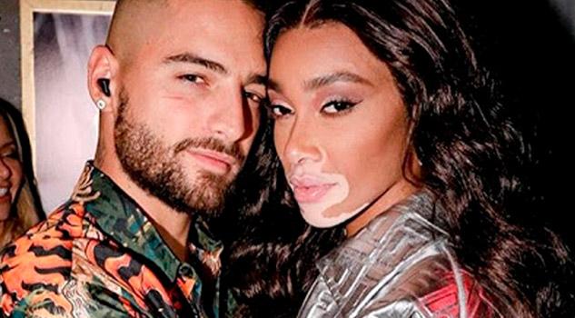 Corren fuertes rumores de romance de Maluma con famosa modelo con vitiligo