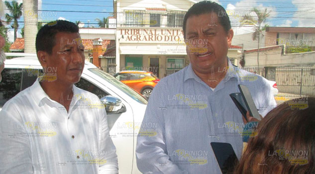 Destraban añejo conflicto ejidal en Tribunal Agrario de Tuxpan