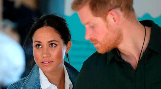 El príncipe Harry teme que Meghan termine como Lady Di