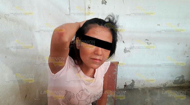 Encarcelada en Huejutla por golpear a su marido