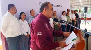 Inaugura alcalde de Poza Rica Segunda Feria Ambiental