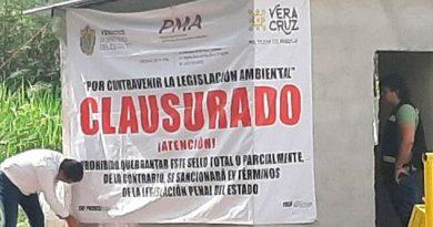 Intervienen empresa que operaba residuos en Tierra Blanca, Veracruz