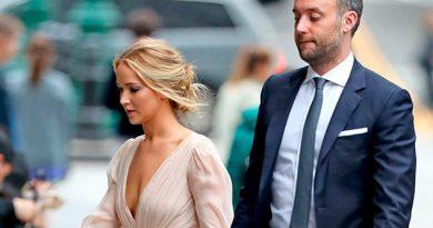 Jennifer Lawrence se casa este sábado en Rhode Island