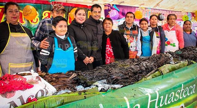 Naranjos impone nuevo record del zacahuil mas grande de la huasteca