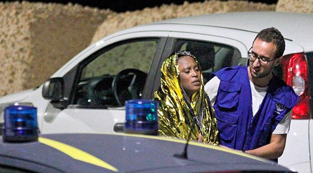 Naufragio frente a isla Lampedusa de Italia deja 13 muertas y 15 desaparecidos