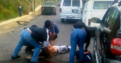 Por disputa de plaza se registra sangrienta balacera en Altotonga