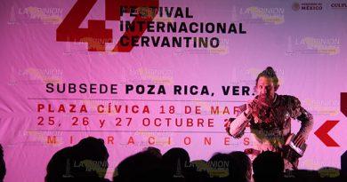 Resguardan el Festival Internacional Cervantino en Poza Rica