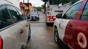 Se incendia vivienda en el fraccionamiento Las Huastecas en Poza Rica