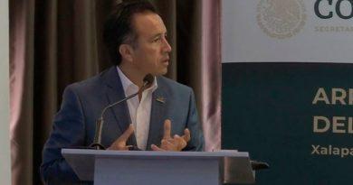 Tren ligero usaría la vía férrea que atraviesa Xalapa: Gobernador de Veracruz