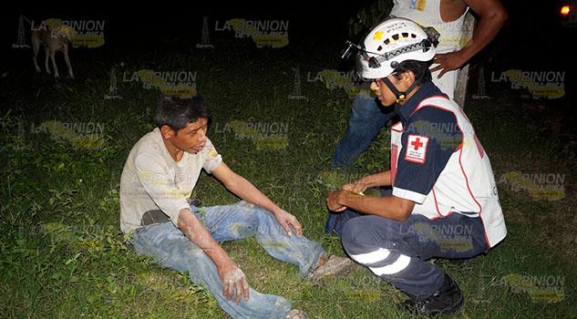 Un joven de 30 años fue agredido a pedradas en Tantoyuca