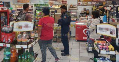 Terror en tienda de conveniencia de Poza Rica