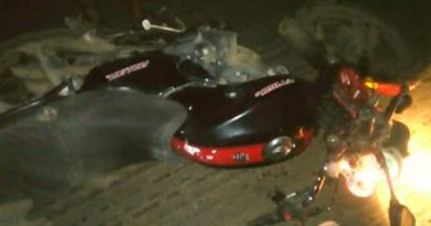 Se mata al derrapar en su moto en la carretera Tuxpan - Tampico