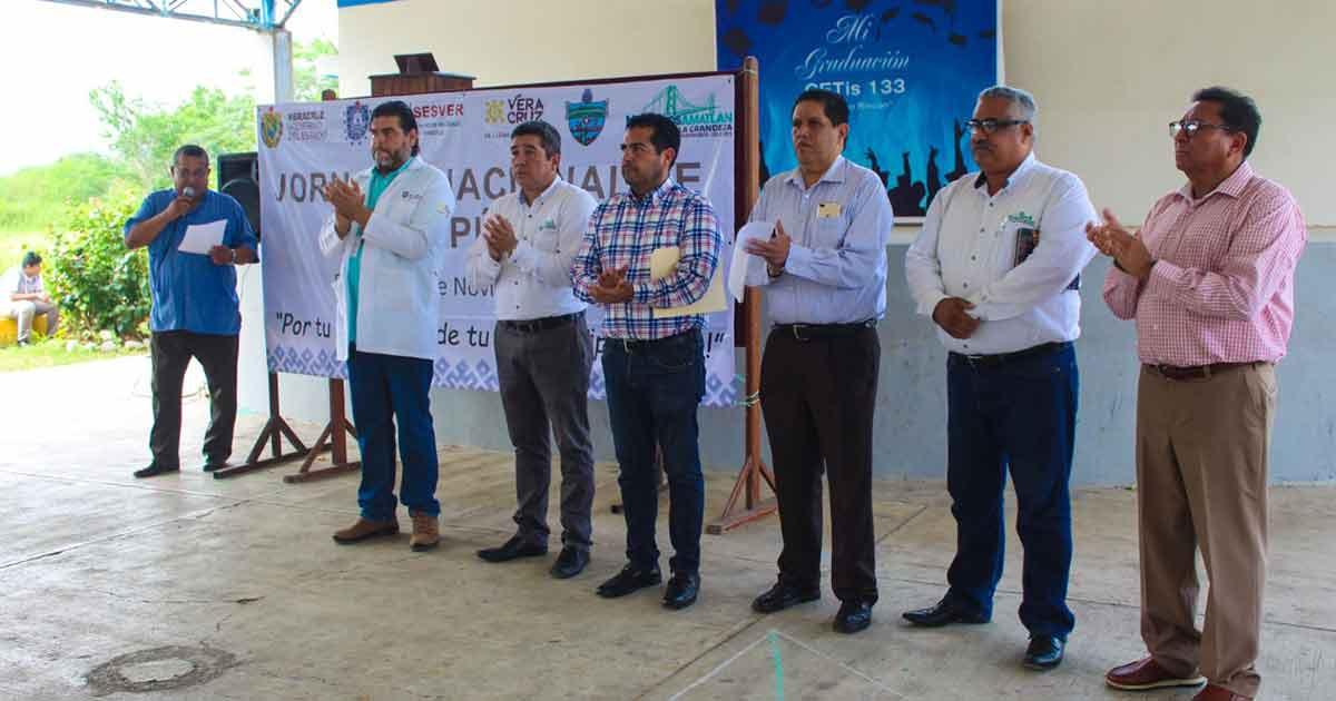 Alcalde pone en marcha la jornada Nacional salud publica en Naranjos - La Opinión