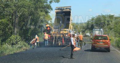 Abandonan los trabajos en la federal Tuxpan-Tampico