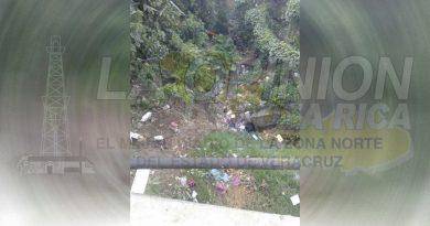 Arroyos y barrancos llenos de basura