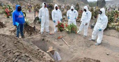 México, quinto país con más muertes por coronavirus