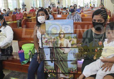 Piden la intercesión de San Judas Tadeo para frenar pandemia