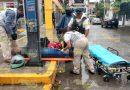 Derriban a motociclista en Los Sauces