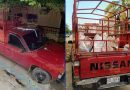 Roban camioneta en Tehuetlán