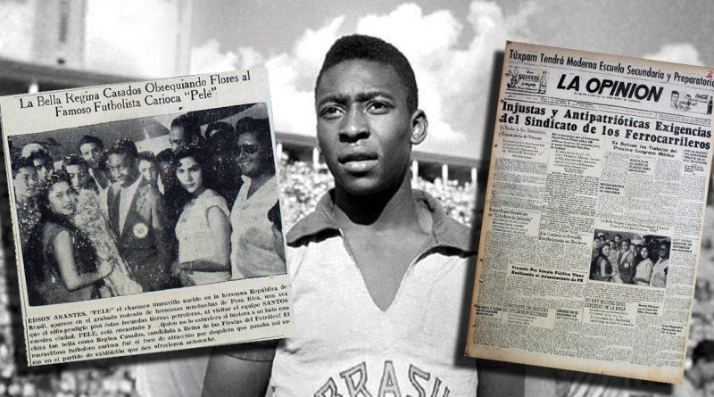 El mítico partido de Pelé en Poza Rica