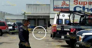 !Asesinan a balazos a un hombre en Huejutla!