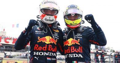 Verstappen se lleva el GP de Francia; Checo queda en tercero