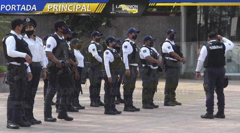 Van por más policías para cuidar la ciudad