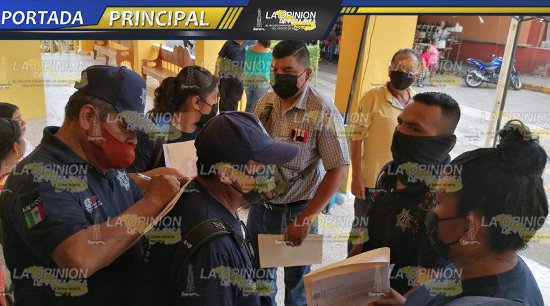 Policías exigen respeto