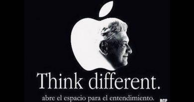 Morena edita campaña de Apple con rostro de AMLO; desata críticas
