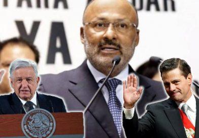 AMLO y Peña Nieto lamentan deceso de René Juárez