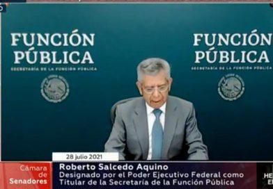 Ratifican comisiones a Roberto Salcedo