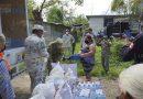 Ejército, Guardia Nacional y PC distribuyen más ayuda a damnificados